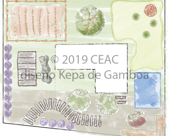 CEAC – Ilustraciones para Curso Técnico en Jardinería y Diseño de Paisajes